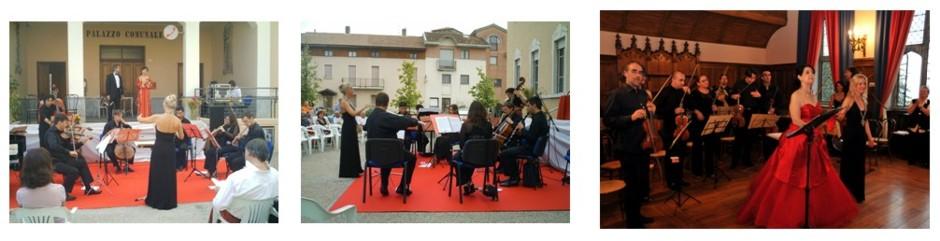 Concerto opera, operetta, Piazza Municipale, Rovasenda 2008