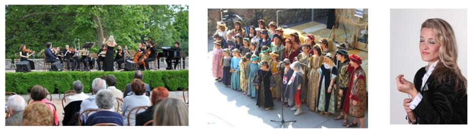 Concerto lirico, Castello Dal Pozzo, Oleggio Castello 2009 - Concerto corale, Castello di Solza, 2009