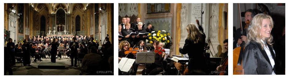 Requiem di Mozart, per soli, coro e orchestra, Chiesa di San Graziano, Arona, 2006