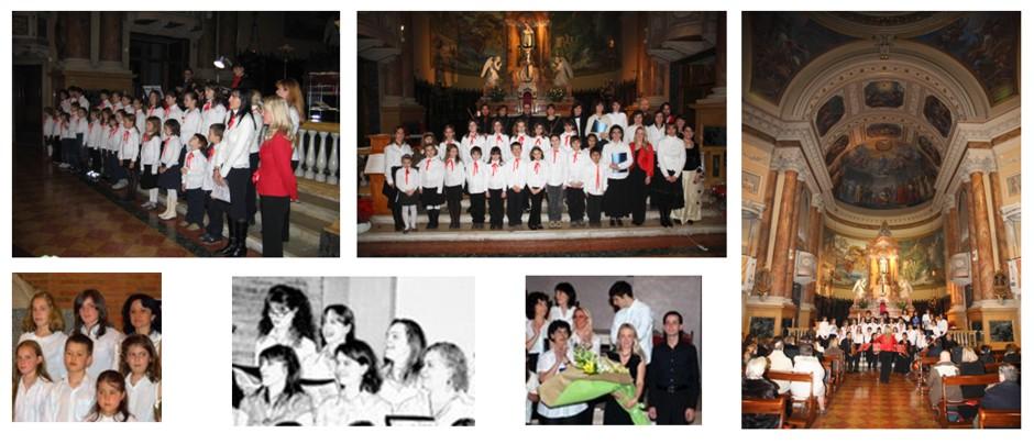 Concerto di Santa Lucia, Chiesa delle Grazie, Bergamo 2006 e 2007