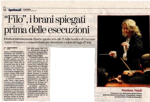 articolo_Gozzano_ Filo2013_LA_STAMPA