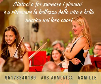 5 per mille per Ars Armonica